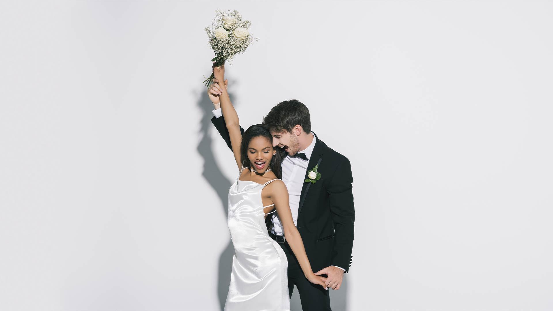 свадьба, жених и несеста