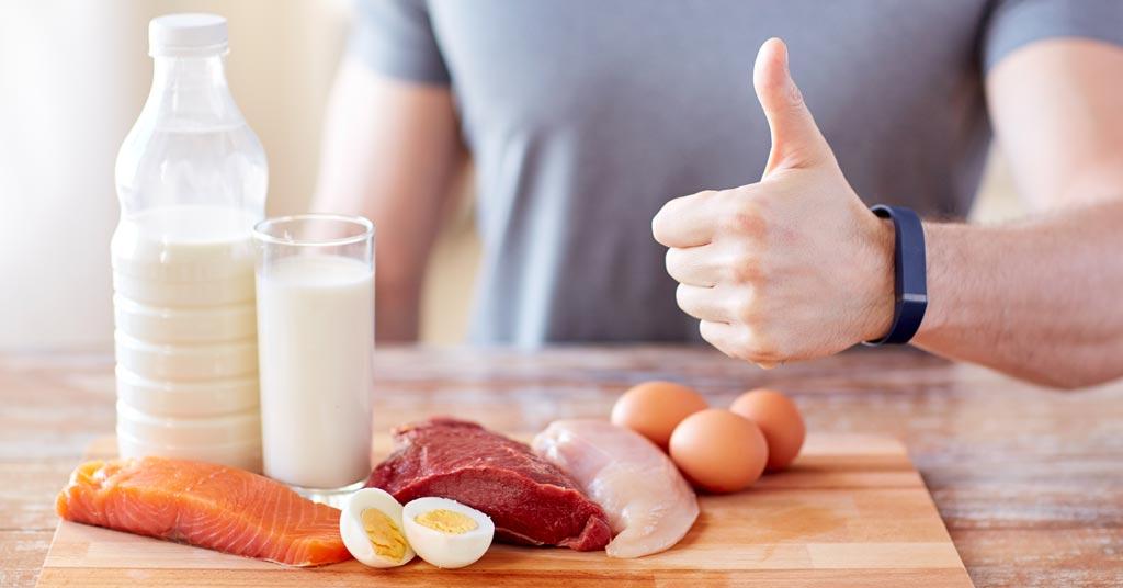 богатая протеином диета, чтобы убрать живот