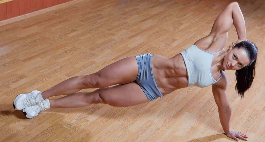 упражнения на низ живота - интервальная тренировка высокой интенсивности