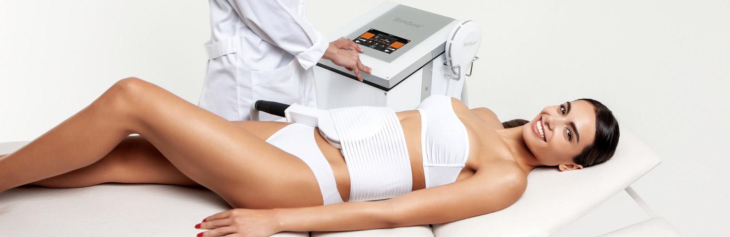 Процедура электромагнитной стимуляции мышц StimSure от Cynosure